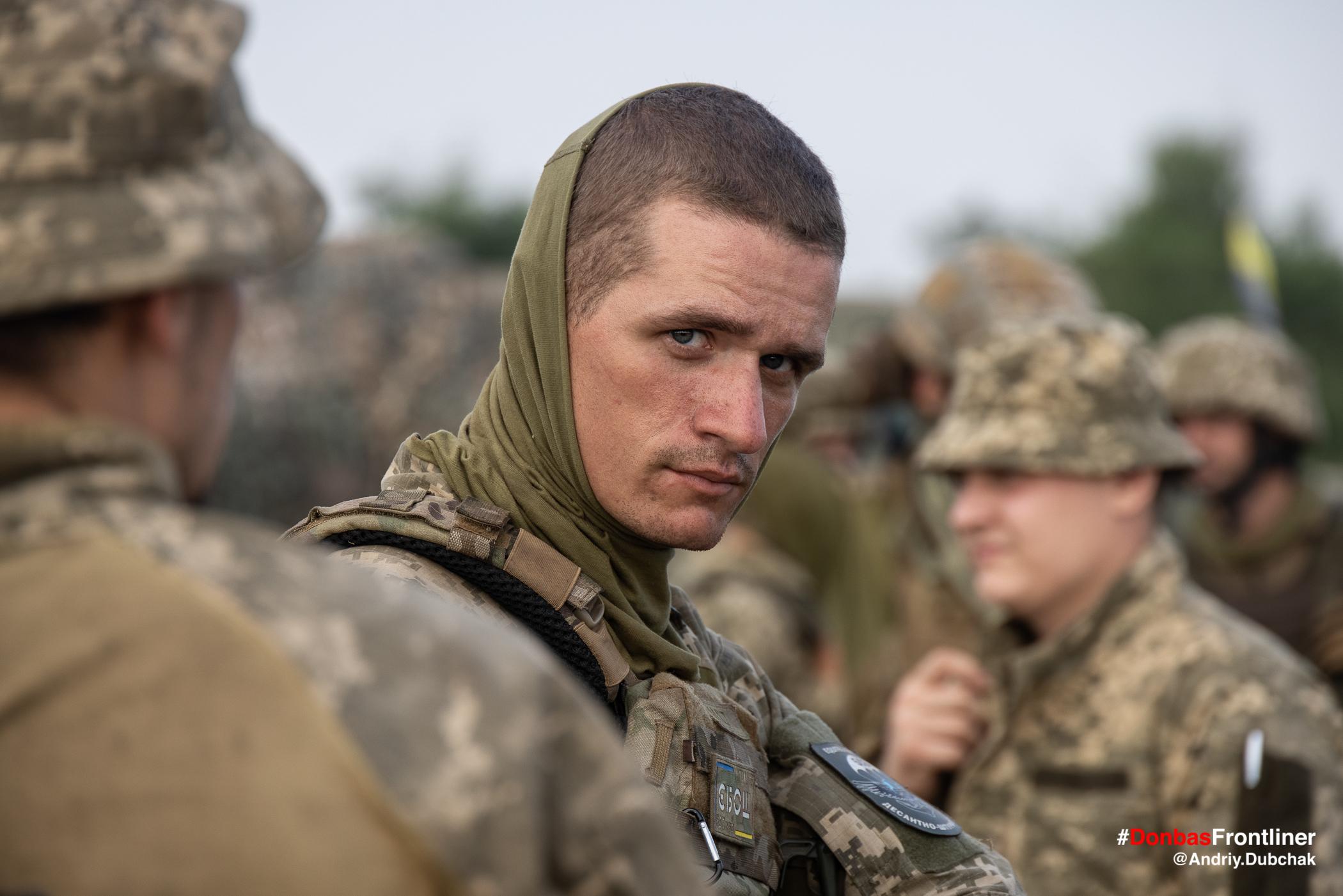 Очі морпіха. Бойове тренування 503-го батальйону морської піхоти на Приазов'ї, липень 2021 року
