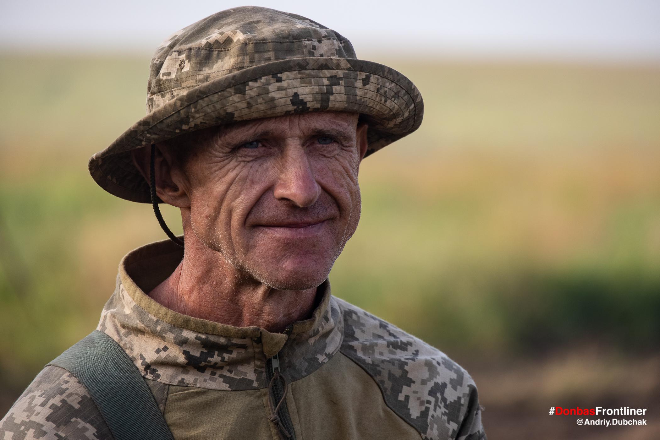 Матрос Папай. Бойове тренування 503-го батальйону морської піхоти на Приазов'ї, липень 2021 року