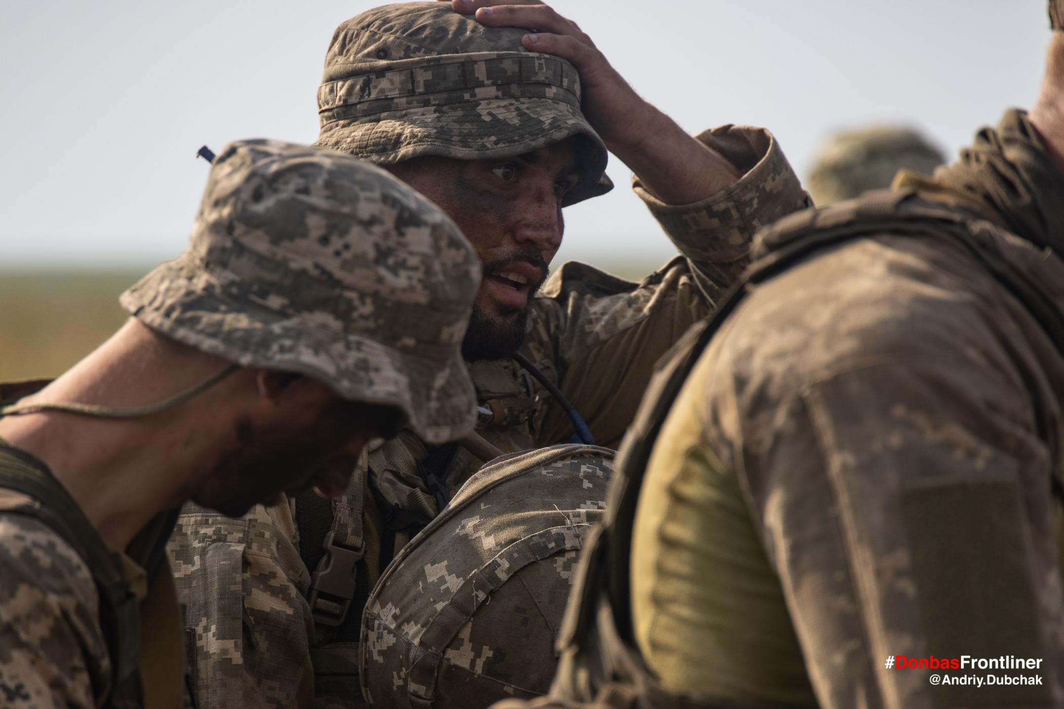 Матрос морської піхоти. Бойове тренування 503-го батальйону морської піхоти на Приазов'ї, липень 2021 року