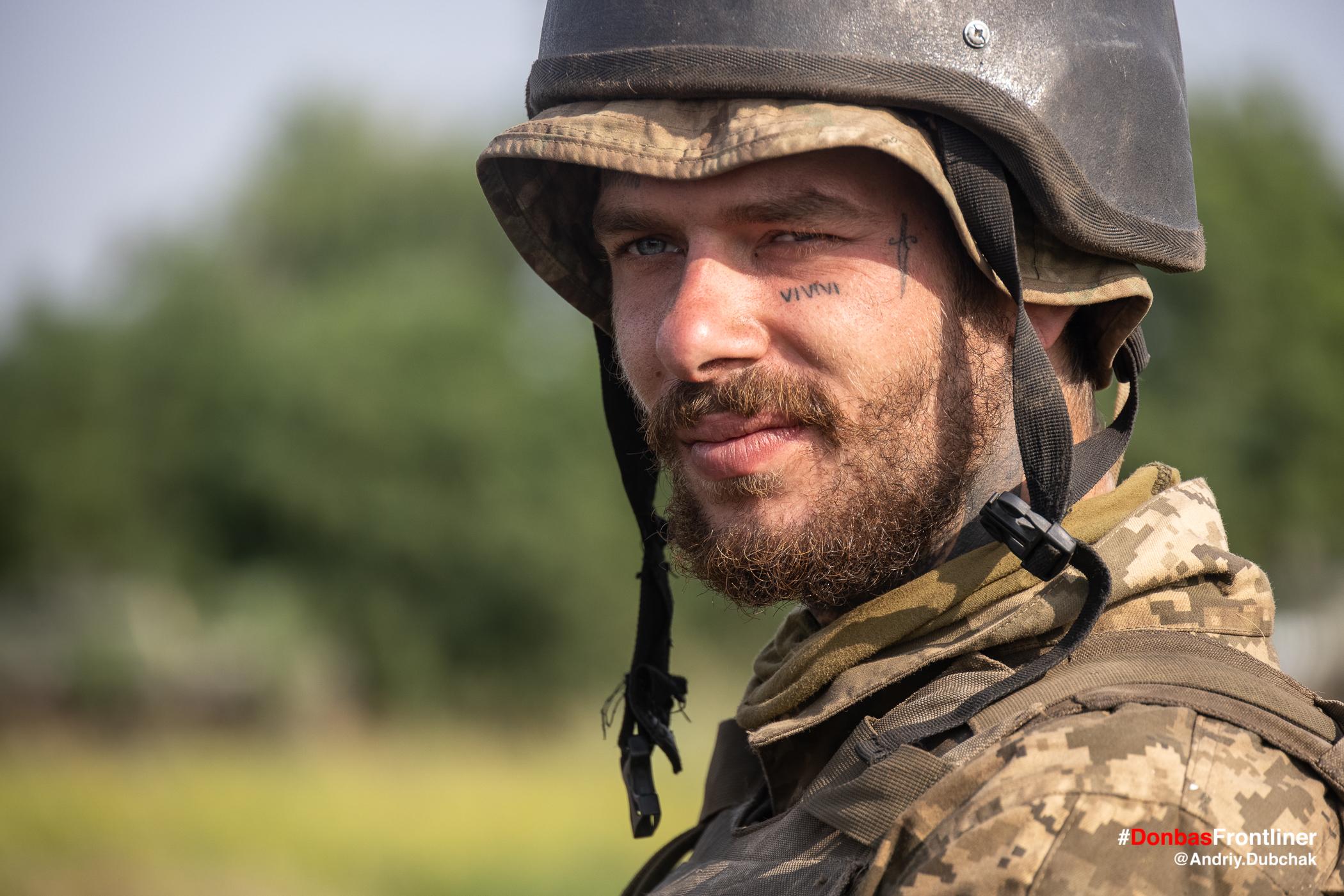 Обличчя морпіха. Бойове тренування 503-го батальйону морської піхоти на Приазов'ї, липень 2021 року